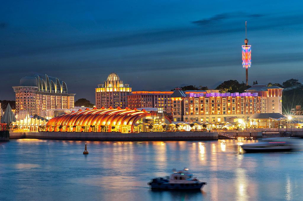 Resorts World Sentosa Meinhardt Transforming Cities