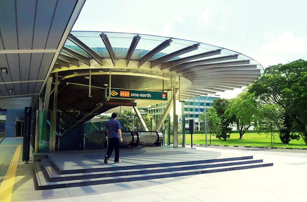 One-North Station – Circle Line | Meinhardt – Transforming Cities, Shaping the Future